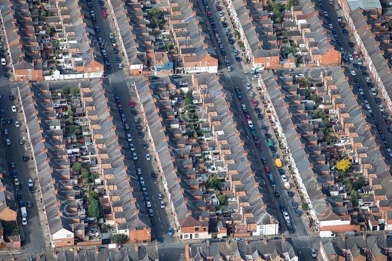 Aerial photo of Compton Road.