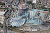 Aerial photo of Siemens factory.