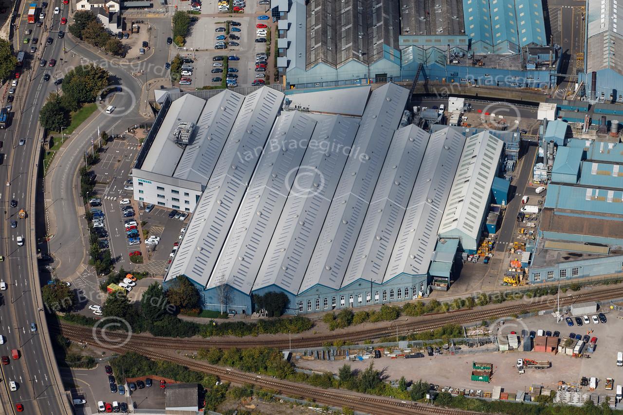 Aerial photo of Siemens-1