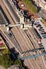 Lincoln Railway Station from the air.