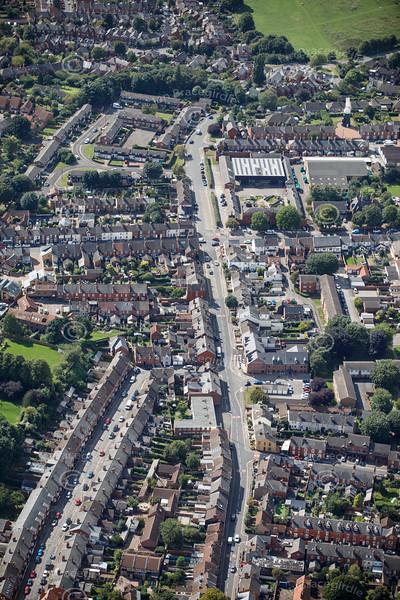 Aerial photo of Rasen Lane.