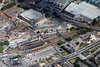 Aerial photo of Lincoln Railway Station.