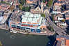 Odeon Cinema Lincoln  from the air.