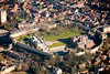 Aerial photo of Lincoln Castle.