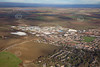 Aerial photo of Fairfield Industrial Estate in Louth.