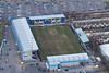 Mansfield Town Football Club from the air.
