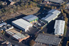 Abbey Park Industrial Estate from the air.