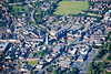 Aerial photo of Market Harborough.