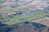 Aerial photos of Market Rasen racecourse.