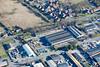 Aerial photos of Market Rasen.