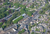 An aerial photo of Matlock in Derbyshire.