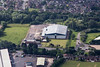 Melton Mowbray from the air.