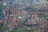 An aerial photo of Newark.