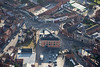 Aerial photo of Beaumond Cross in Newark.