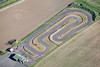 An aerial photo of Newark Kart Track.