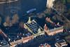 Aerial photo of Castlegate in Newark.