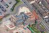 Aerial photo of the Maltings in Newark.