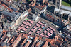 An aerial photo of Newark Market Place.