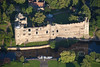 A stock aerial photo of Newark Castle in Nottinghamshire.