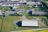 Aerial photo of Newark Air Museum.