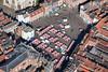 An aerial photo of Newark Market.