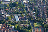 Aerial photo of Newark College.