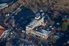 Aerial photo of Newark on Trent.