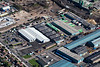 Aerial photo of Bowbridge road in Newark.
