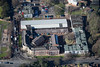 An aerial photo of Newark Technical College in Newark, Nottinghamshire.