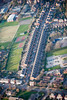 An aerial photo ofLime Grove in Newark.
