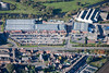 An aerial photo of Northgate Retail Park Newark