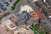 An aerial photo of the Maltings in Newark.