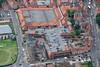Aerial photo of Morrisons supermarket.