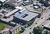 Aerial photo of Newark Police Station.