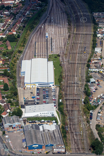 Aerial photo of Northampton.