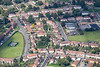 Aerial photo of Northampton.