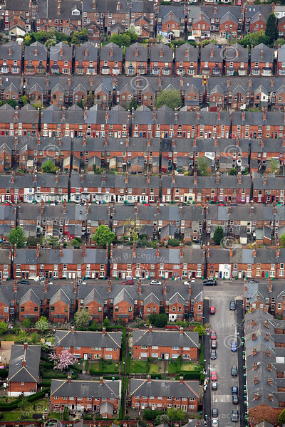 Urban Housing from the air.
