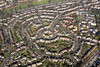 Woodthorpe in Nottingham from the air.