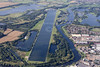 Holme Pierrepont in Nottingham from the air.