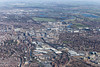 An aerial photo of Nottingham City Centre.