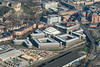 Aerial image of Nottingham tax office, Inland revenue headquarters.