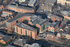 British Waterways Building in Nottingham from the air.