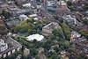 Aerial photo of Nottingham Castle.