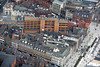 Market Street in Nottingham from the air.