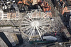 Even higher than the Nottingham Eye. Nottingham Old Market Square from the air.