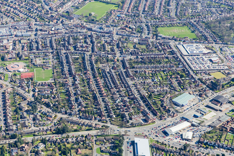 Aerial photo of Arnold.