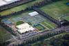 Aerial photo of Nottingham Tennis Centre.