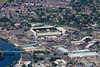 Aerial photo of Notts County.