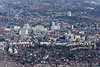 Aerial photography of Nottingham.
