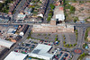 Home Ales Building in Nottingham from the air.